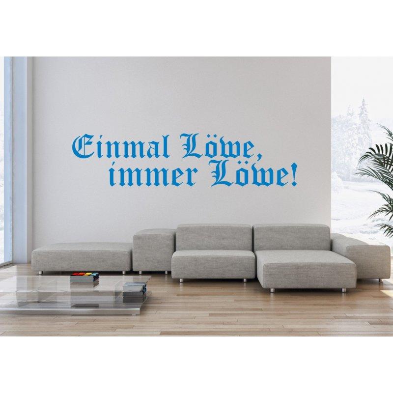 wandtattoo einmal l we immer l we 11 95 eur. Black Bedroom Furniture Sets. Home Design Ideas
