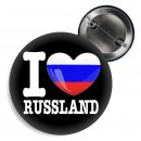 Button - I LOVE RUSSLAND -