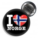 Button - I LOVE NORGE -