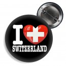 Button I love Switzerland