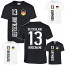 Kinder-T-Shirt Deutschland/Germany