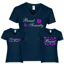 T-Shirt Braut / Brautsecurity