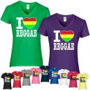 T-Shirt I Love Reggae