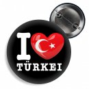 Button - I LOVE TÜRKEI -