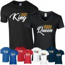 KING & QUEEN Partner-Shirts