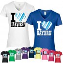 T-Shirt I LOVE BAYERN