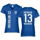 Damen Fan-Shirt - GRIECHENLAND -