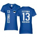 Damen Fan-Shirt - ESTONIA -