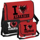 Messenger Bag - I LOVE ALBANIEN -