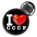 Button - I LOVE CCCP -