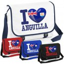 Messenger Bag - I LOVE ANGUILLA