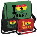 Messenger Bag - I LOVE GHANA