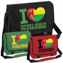 Messenger Bag - I LOVE GUINEA-BISSAU