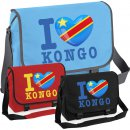 Messenger Bag - I LOVE KONGO
