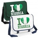 Messenger Bag - I LOVE NIGERIA -