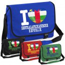 Messenger Bag - I LOVE ZENTRALAFRIKANISCHE REPUBLIK -