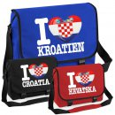 Messenger Bag - I LOVE KROATIEN -