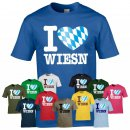 T-Shirt - I LOVE WIESN -