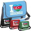 Messenger Bag - I LOVE ASERBAIDSCHAN -