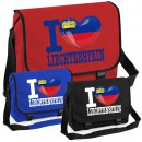 Messenger Bag - I LOVE LIECHTENSTEIN -