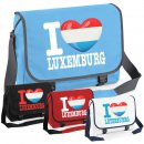 Messenger Bag - I LOVE LUXEMBURG -