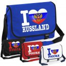 Messenger Bag - I LOVE RUSSLAND -