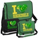 Messenger Bag - I LOVE KOKOSINSELN -