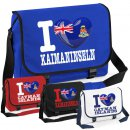 Messenger Bag - I LOVE KAIMANINSELN -