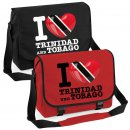 Messenger Bag - I LOVE TRINIDAD und TOBAGO