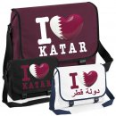 Messenger Bag - I LOVE KATAR