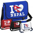 Messenger Bag - I LOVE NEPAL