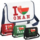 Messenger Bag - I LOVE OMAN -