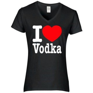 T-Shirt I love Vodka