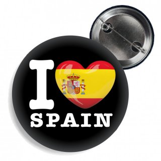 Button - I LOVE SPAIN -