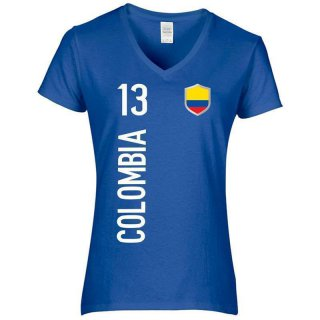 Damen Fan-Shirt - COLOMBIA -