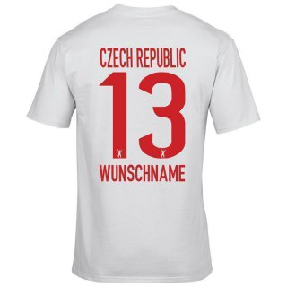Herren Fan-Shirt - CZECH REPUBLIC -