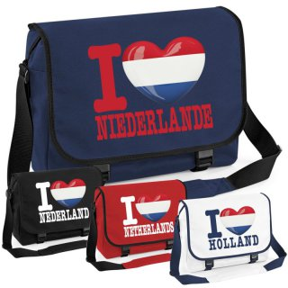 Messenger Bag - I LOVE NIEDERLANDE -