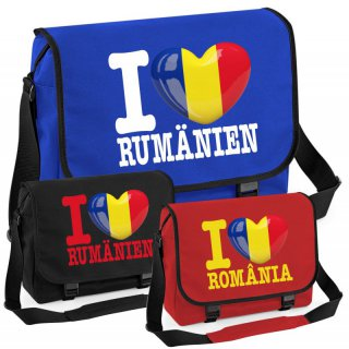 Messenger Bag - I LOVE RUMÄNIEN -