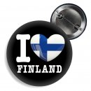 Button - I LOVE FINLAND -