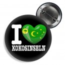 Button - I LOVE KOKOSINSELN -