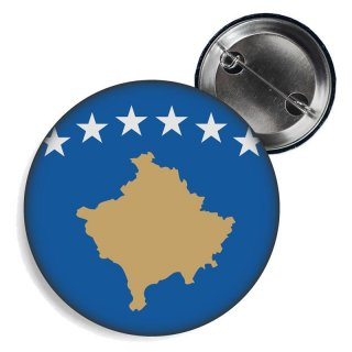 Button - KOSOVO - Fahne