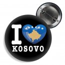 Button - I LOVE KOSOVO -