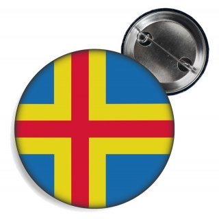 Button - ÅLANDINSELN - Fahne