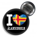 Button - I LOVE ÅLANDINSELN -