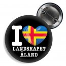 Button - I LOVE LANDSKAPET ÅLAND -