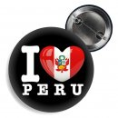Button - I LOVE PERU -