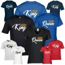 Partner-Shirts - KING & QUEEN -