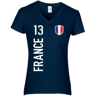Damen Fan-Shirt - FRANCE -