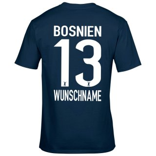 Herren Fan-Shirt - BOSNIEN -