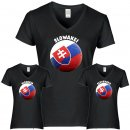 Damen T-Shirt - BALL SLOWAKEI -